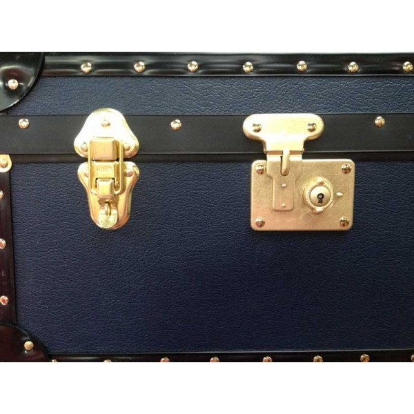 Tuck Box With Flip Lock Navy Blue Mossman Trunks