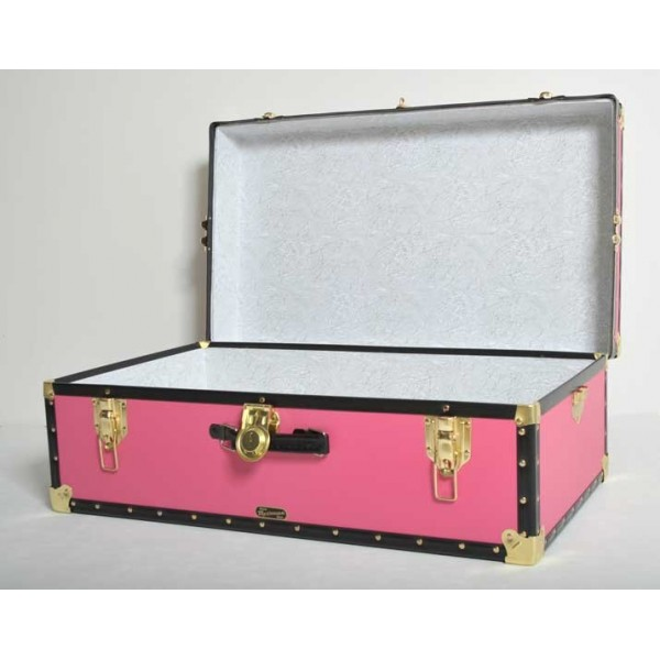 33 Quot Hand Luggage Trunk Pink Mossman Trunks