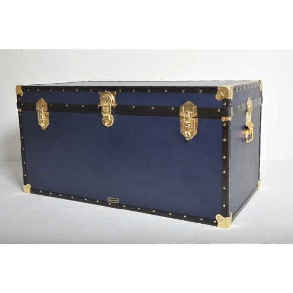 40 Quot Queen Trunk Navy Blue Mossman Trunks