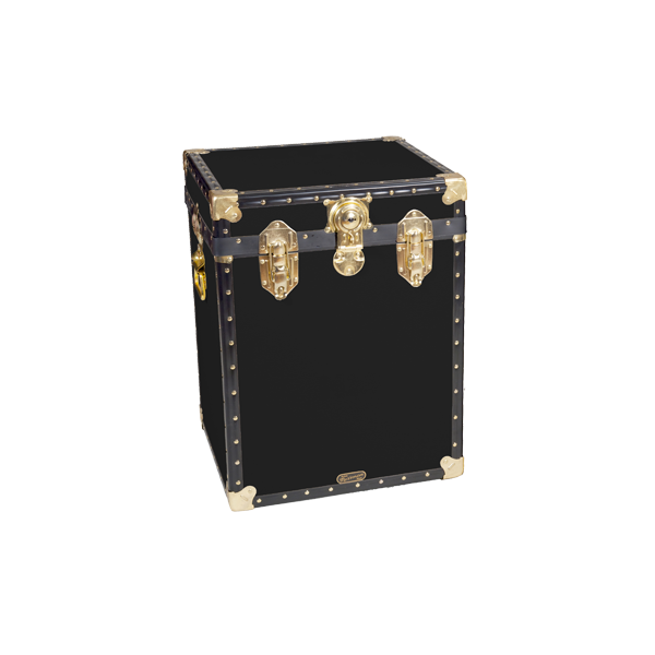 18 Quot Bedside Trunk Black Mossman Trunks