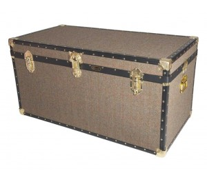 "40"" Queen Trunk - Harris Tweed"