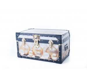 Tuck Box with Cabin Lock - Gold Baubles