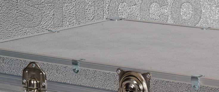 Silver Stucco Aluminium