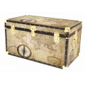 """36"""" Cabin Trunk - Old Map"""