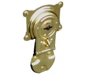 Trunk Cabin Lock - Gold in Colour