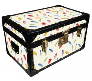 Tuck Box by Milly Green - Cream Feathers