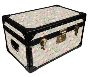 Tuck Box by Milly Green - Green & Pink Eggs