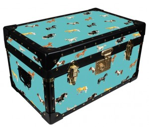 Tuck Box by Milly Green - Teal Horsey