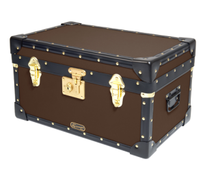 Tuck Box with Flip Lock - Brown