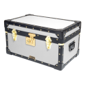 Tuck Box with Flip Lock - White
