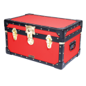 Tuck Box with Cabin Lock - Red