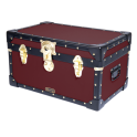 Tuck Box with Cabin Lock - Burgundy