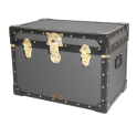 Stool Box with Cabin Lock - Charcoal Grey