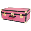 """30"""" Attache Luggage Trunk - Pink"""