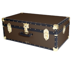 """33"""" Hand Luggage Trunk - Brown"""