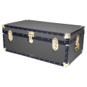 "36"" Steamer Trunk - Charcoal Grey"