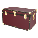 "36"" Cabin Trunk - Burgundy"