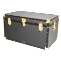 """36"""" Cabin Trunk - Charcoal Grey"""