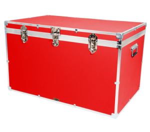 """40"""" King Trunk - Red"""