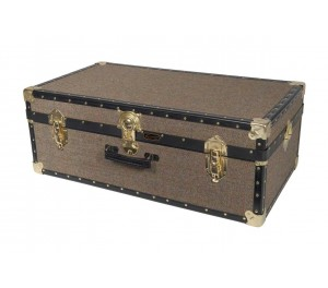 "33"" Hand Trunk - Harris Tweed"