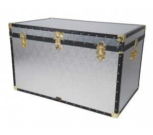 "40"" King Trunk - Silver Alloy"
