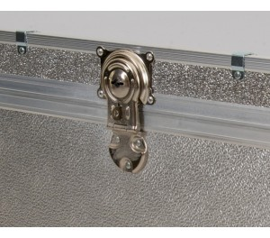 Stool Box with Cabin Lock - Silver Alloy