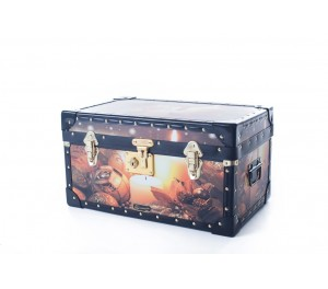 Tuck Box with Flip Lock - Xmas Candles