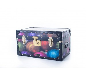 Tuck Box with Flip Lock - Coloured Baubles