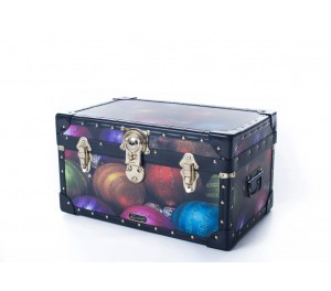 Tuck Box with Cabin Lock - Coloured Baubles