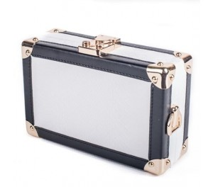Hollycroft Trunk Clutch - White