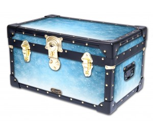 Tuck Box with Cabin Lock - Snowflake