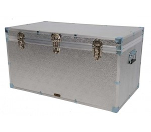 "36"" Cabin Trunk - Silver Alloy"