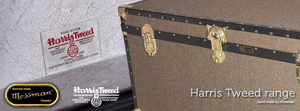 Harris Tweed Range - Mossman Trunks