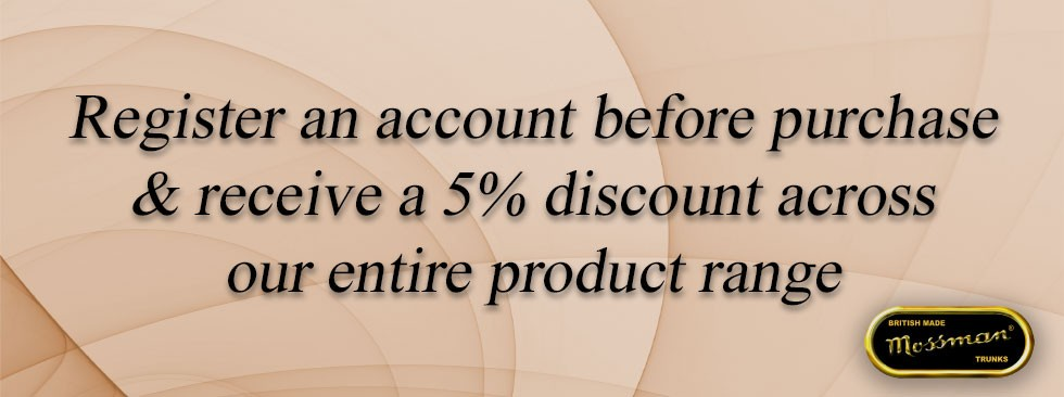 Register An Account Today